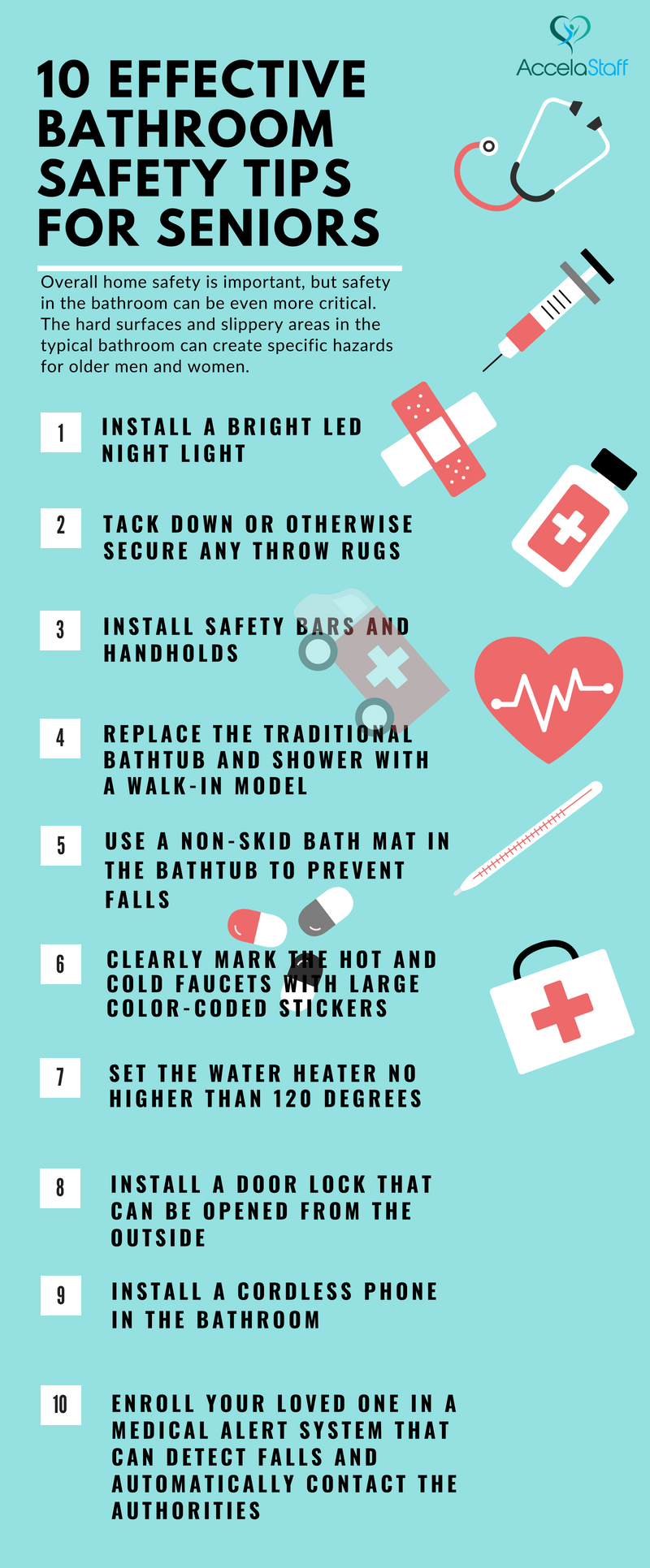 10 Effective Bathroom Safety Tips for Seniors